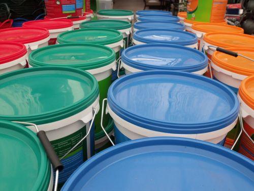 Coloured Tubs