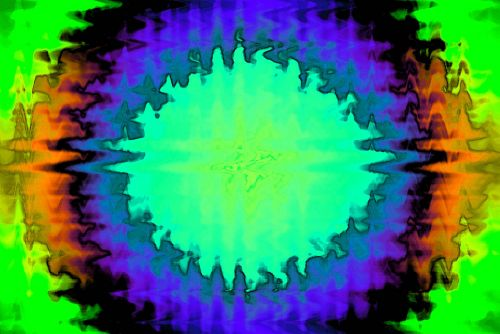 Coloured Wave Radial