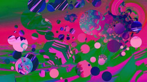 colourful fragment design