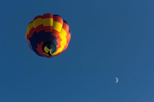 colourful balloon the sky