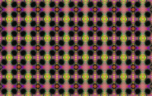 Colourful Cutout Pattern
