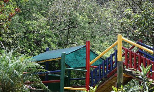 Colourful Jungle Gym