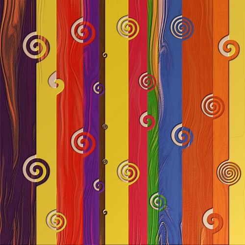 Colourful Timber