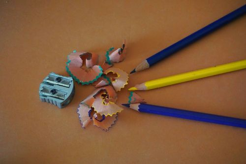 colouring pencils drawing art