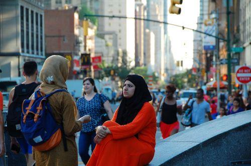 columbus circle new york muslim women