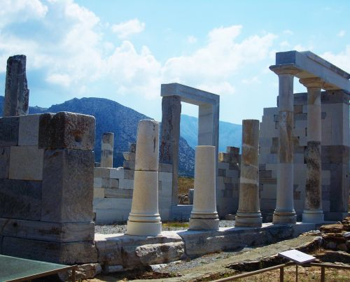 column ancient ruins ruins
