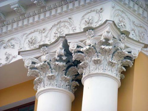 columnar capitals detail
