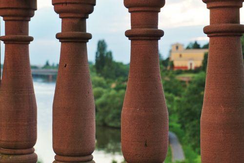 columnar sand stone aschaffenburg