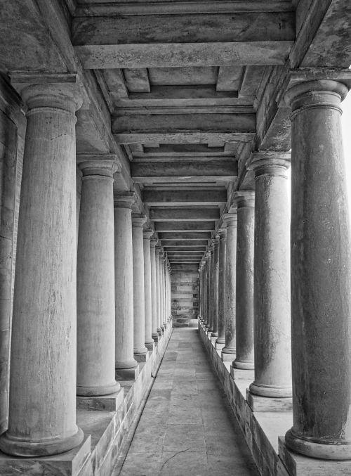 columns colonnade classical