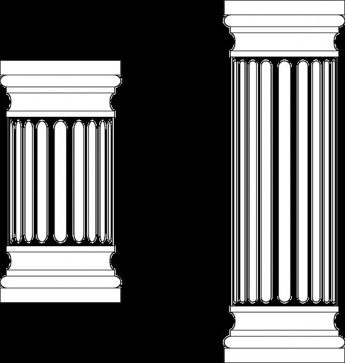 columns greek marble