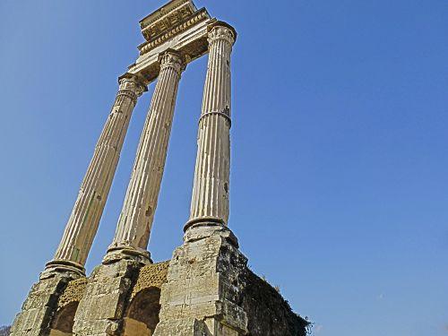 columns rome ancient rome