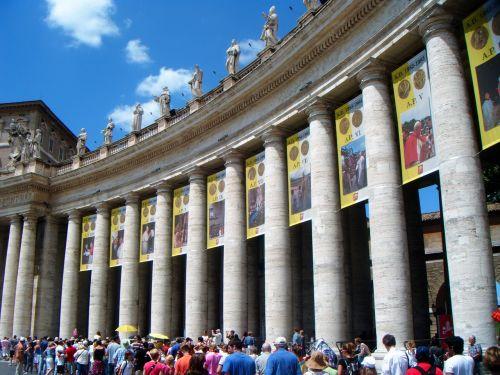 columns the vatican fragment