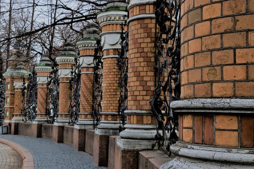 columns  history  fence