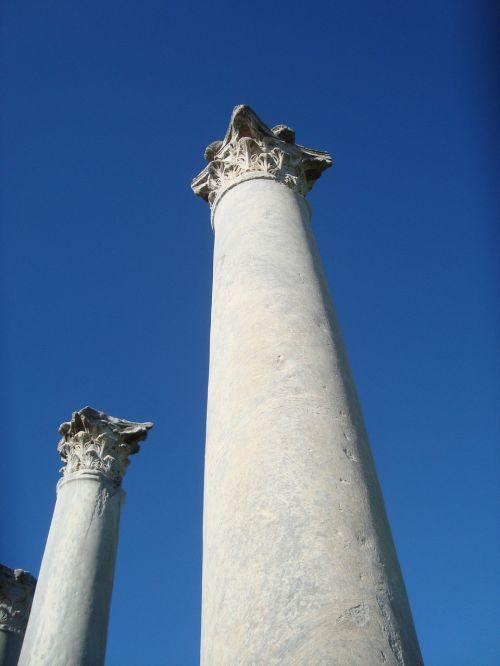 columns salamis pillars