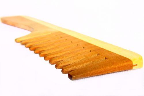 comb wooden comb utensil