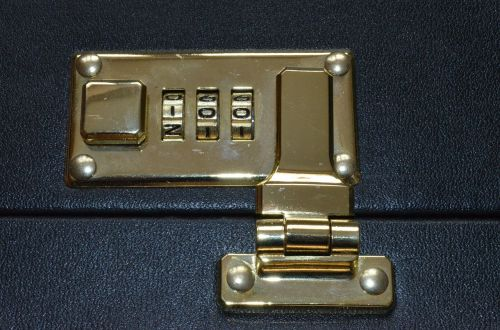combination lock luggage snap lock