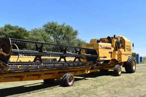 combine harvester agricultural tool combine platform