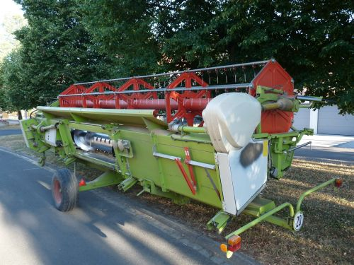 combine harvester knife agriculture trailers
