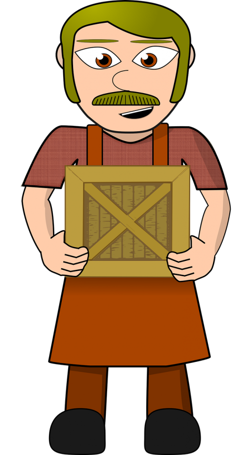 comic characters crate dress-up head