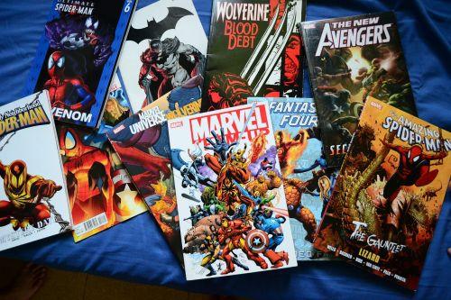comics novels superhero