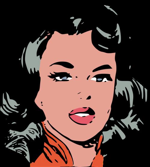 comics face female