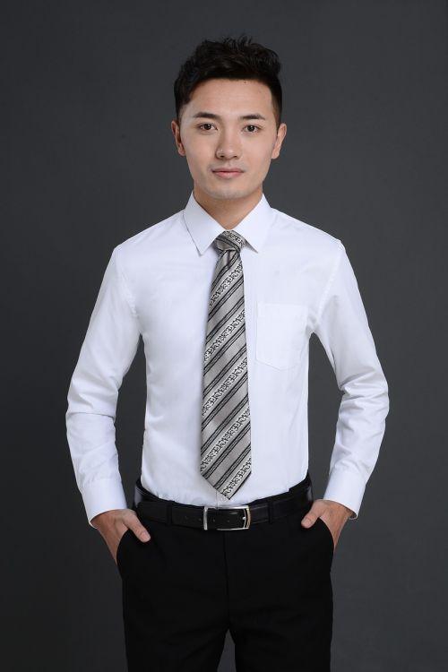 commercial handsome portrait
