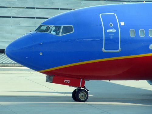 Commercial Aircraft Taxiing