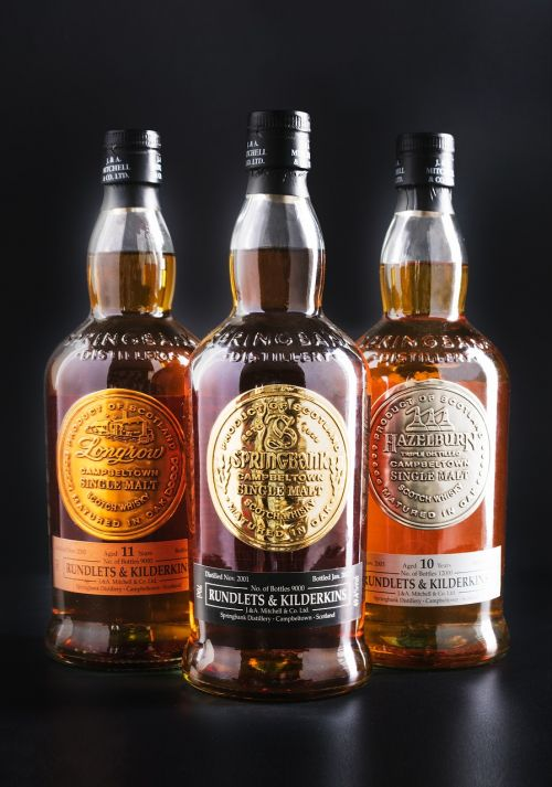 commercial photography wine whisky