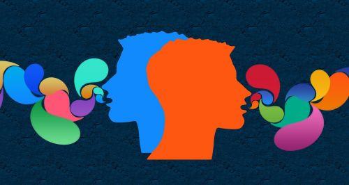 communication head balloons