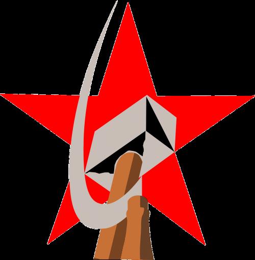 communism hammer sickle