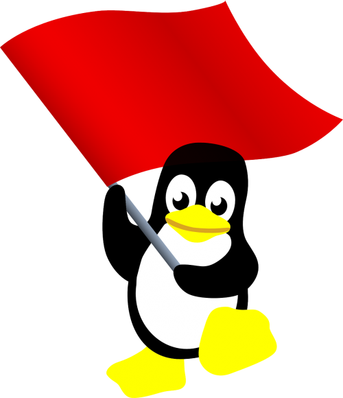 communist penguin tux
