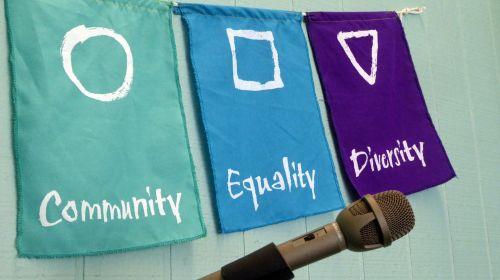 Community, Equality, Diversity