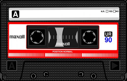 compact cassette musicassette mc