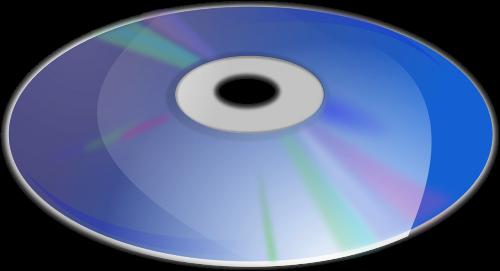 compact disc cd circular