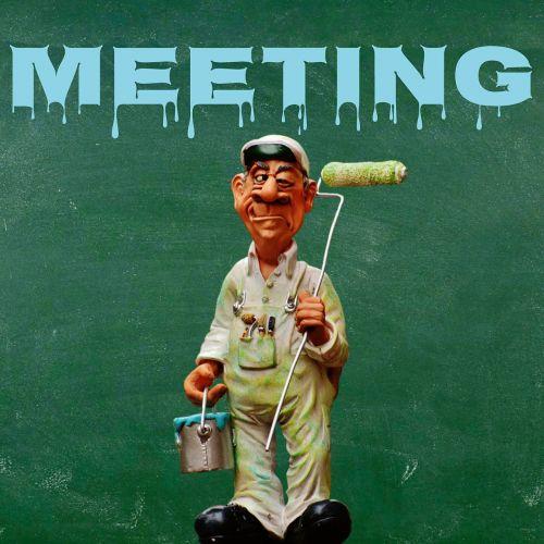 company meeting business