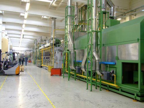 company factory production