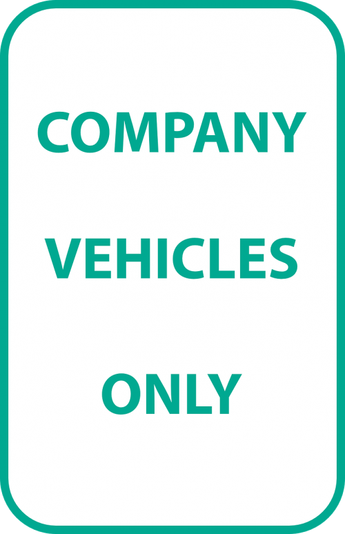 company vehicles only