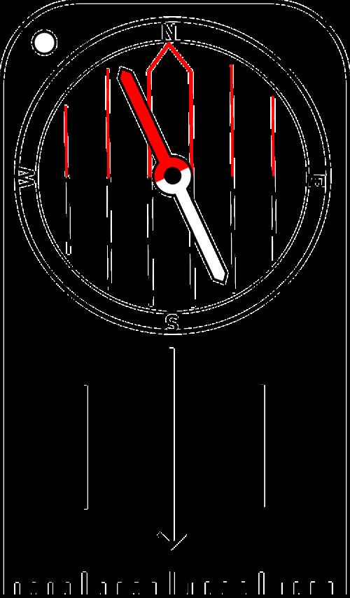 compass orienteering cartography