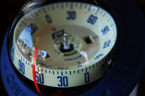 compass sea ship