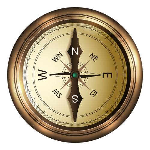 compass north south