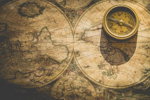 compass degrees north
