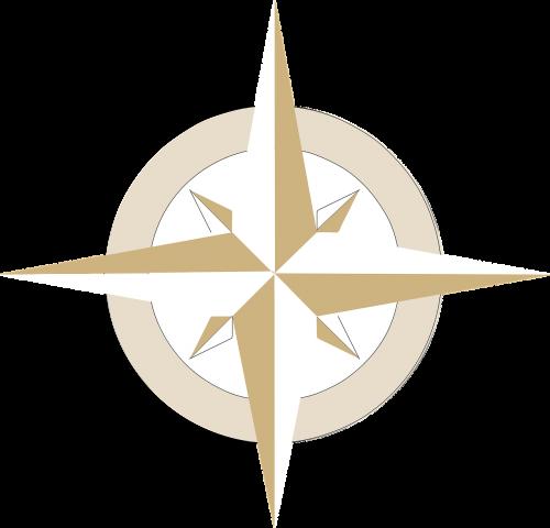 compass compass rose south