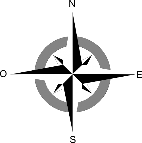 compass windrose north