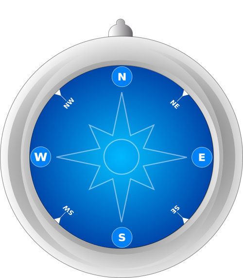 compass rose wind