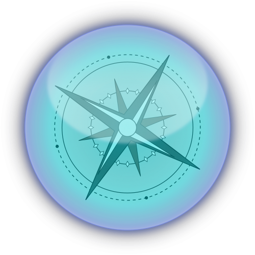 compass direction magnet