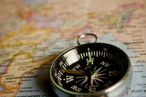 compass navigation map