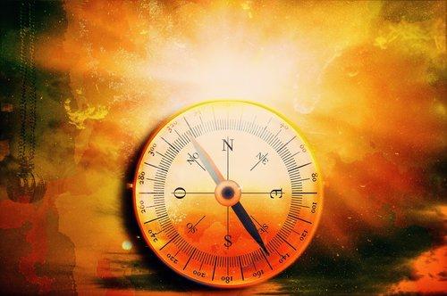 compass  time  light