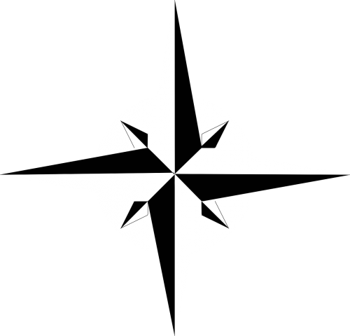 compass rose north compass