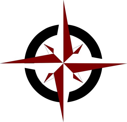 compass rose south north