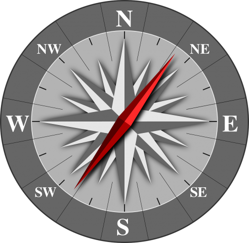 compass rose wind direction